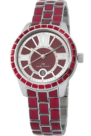 Carlo Monti Cosenza Women's Quartz Watch with Dial Analogue Display and Stainless Steel Bracelet CMZ01-144