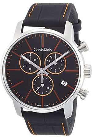 Calvin Klein Men's Analogue Quartz Watch with Leather Strap K2G271C1