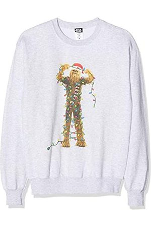 STAR WARS Men's Chewbacca Christmas Lights Sweatshirt