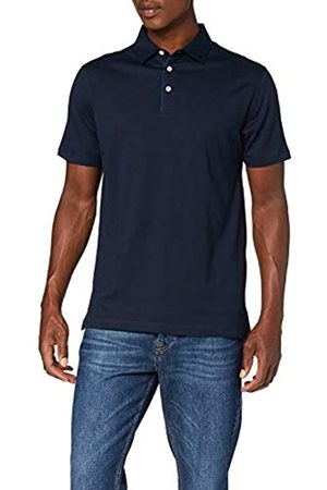 Hackett London Men's's Polka Dot Trim Polo Shirt (Dark Denim 559) XXX-Large