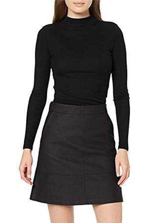 Only Women's Onllisa Ash Faux Leather Skirt OTW