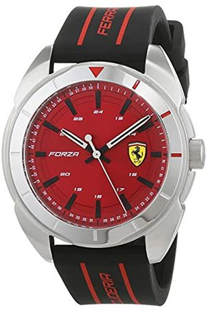 Scuderia Ferrari Mens Analogue Classic Quartz Watch with Silicone Strap 0830543