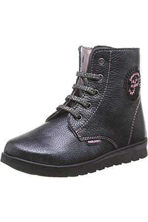 Pablosky Boys' 66053 Low-Top Sneakers, (Gris Gris)