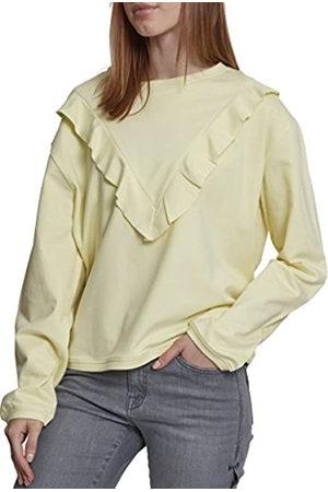 Urban classics Women's Ladies Terry Volant Crew Sweater