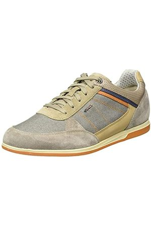 Geox Men's U Renan B Low-Top Sneakers, (Taupe C6029)