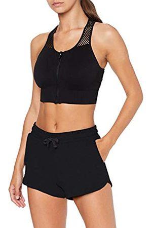 AURIQUE Amazon Brand - Women's Gym Shorts, 10
