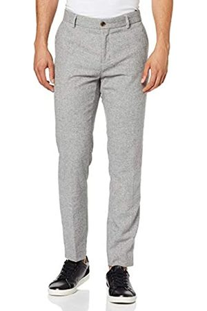 Scotch & Soda Men's Stuart-Classic Winter Chino in Wool-Blend Quality with Neps Trouser