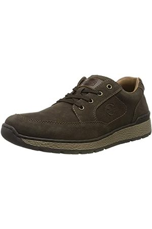 Rieker Men's Herbst/Winter Low-Top Sneakers, (Testadimoro/Kastanie 25)