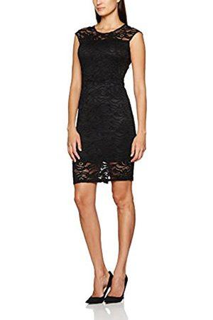 Berydale Women's Bd310 Dress with Lace (Schwarz)