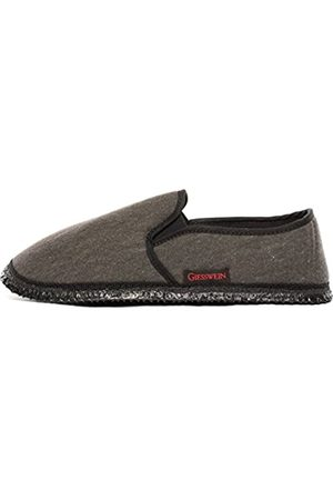 Giesswein Berlin, Men's Open Back Slippers, (Anthrazit)