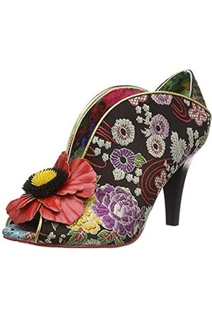 Irregular Choice Women's Rita Primrose Closed Toe Heels, ( Multi Floral F)