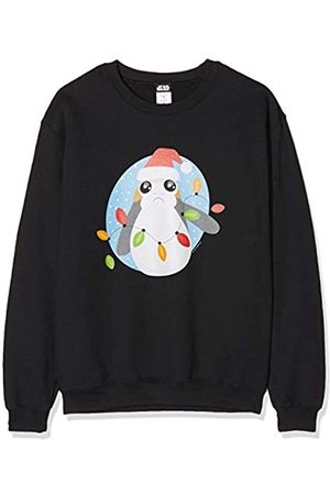 STAR WARS Men's Last Jedi PORG Christmas Lights Sweatshirt