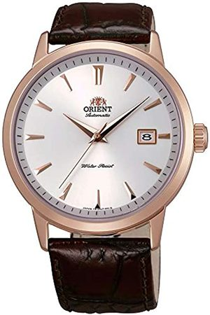Orient Mens Analogue Automatic Watch with Leather Strap FER27003W0