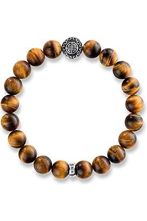 Thomas Sabo Men Silver Stretch Bracelet - A1679-826-2-L15.5
