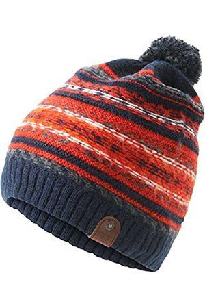 TOM TAILOR Men's Jacquard Hat pom Beanie