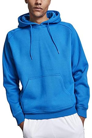Urban classics Men's Blank Hoodie Hooded Sweatshirt