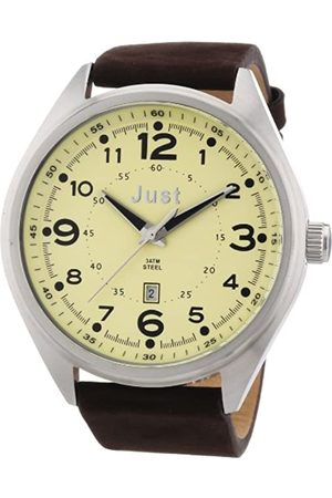 Just Watches Men's Quartz Watch 48-S1231-BE with Leather Strap