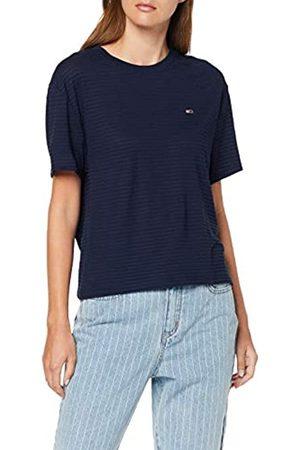 Tommy Hilfiger Women's Tjw Textured Handfeel Tee Sports Knitwear