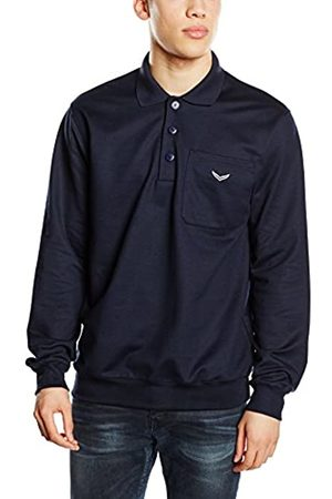 Trigema Men's Herren Polo-Shirt Sweat-Qualität Sweatshirt