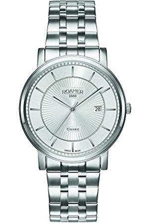 Roamer Men's Quartz Watch with Dial Analogue Display and Stainless Steel Bracelet 709856 41 17 70