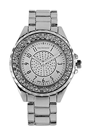 Jean Bellecour Unisex Adult Analogue Quartz Watch with Stainless Steel Strap A0267-11