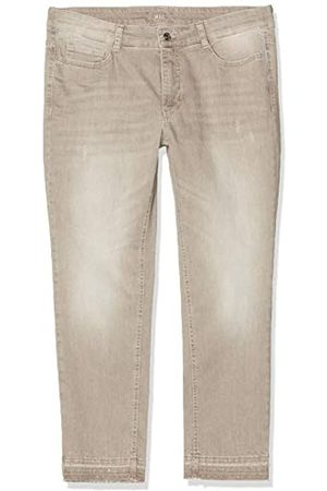 Mac Women's Angela Pipe Fringe Glam Straight Jeans