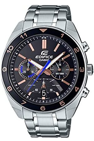 Casio Men's Analogue Japanese Quartz Watch with Stainless Steel Strap EFV-590D-1AVUEF