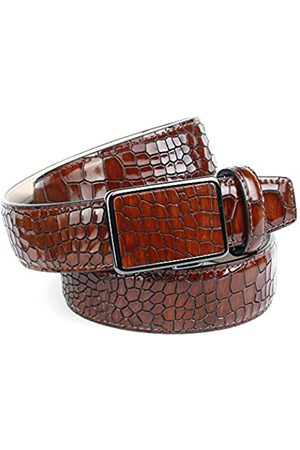 Anthoni Crown Men's's 37K40 Belt, (Braun 040)