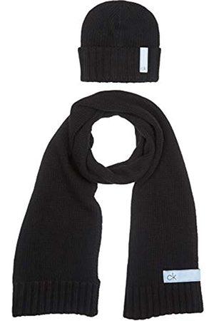 Calvin Klein Men's K50K505185 Scarf, Hat & Glove Set