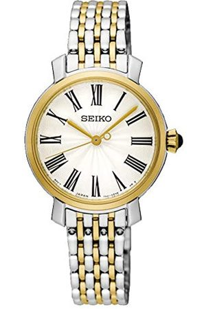 Seiko Womens Analogue Quartz Watch with Stainless Steel Strap SRZ496P1