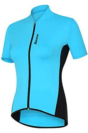 Santini Women's Gold Short Sleeve Jersey, Women's, AS95475ORO