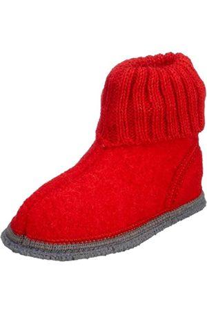 Kitz - Pichler Kitz-Pichler Unisex Kids' Ötz Unlined high house shoes, ( Rubi)