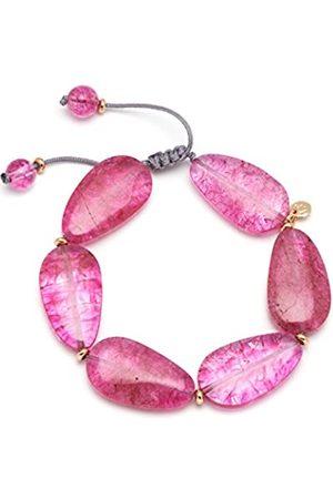 Lola Rose Cordelia Violet Rock Crystal Bracelet of Length 20-26cm