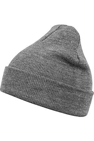 Masterdis Mstrds Unisex Knitted Basic Flap Beanie - Plain Neutral Colour. Winter Hat for Men and Women