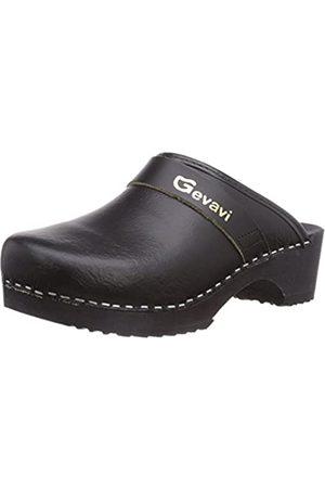 Gevavi 9200 Muil Zwart 45, Unisex Adults' Clogs, (schwarz(zwart) 00)