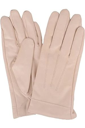 """SNUGRUGS Womens Butter Soft Premium Leather Glove with Classic 3pt Stitch Design & Warm Fleece Lining (X-Large (8""""))"""