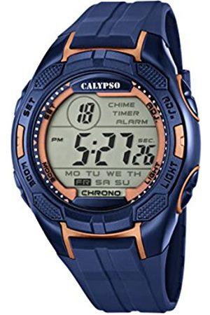 Calypso Mens Digital Quartz Watch with Plastic Strap K5627/9