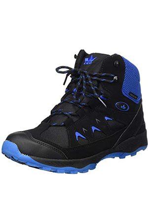 Lico Unisex Adults' Cascade Snow Boots, (Schwarz/Blau Schwarz/Blau)