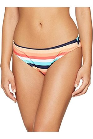 Dorothy Perkins Women's Multi Stripe Bikini Bottoms, (Coral)