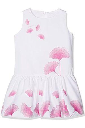 Conguitos Girl's Vestido Niña Flores Rosa Cover up