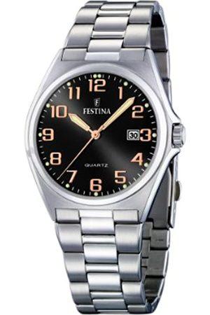 Festina Men's Watch F16374/8 With Steel Strap