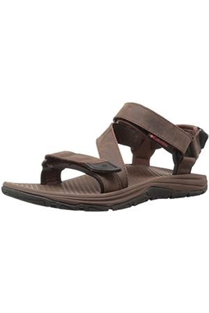 Columbia Men's Sandals, BIG WATER LEATHER, (Tobacco/ Super Sonic)