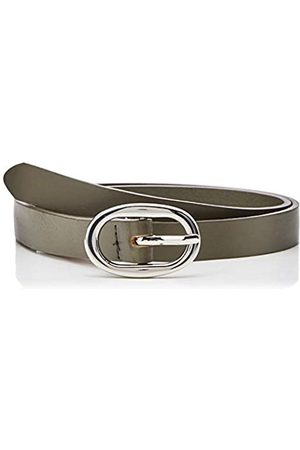 Pieces Womens Pcavery Leather Braided Slim Belt Noos