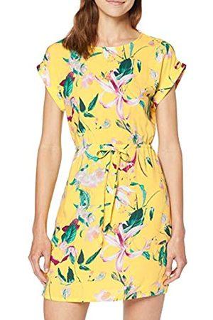Vero Moda Women's Vmsimply Easy Ss Short Dress, (Yarrow AOP:TRILLE-Yarrow)