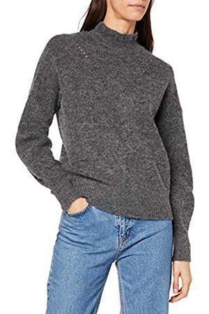 Selected Women's Slfinga Ls Knit Frill-Neck B Jumper