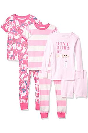 Spotted Zebra Unisex Kids Snug-fit Cotton Snug-fit Cotton Pajama Set