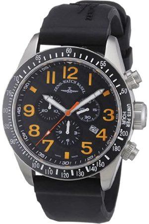 Zeno Watch Basel Men's Quartz Watch Quarz 6497-5030Q-s15 with Leather Strap