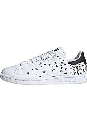adidas Women's Stan Smith W Gymnastics Shoe, FTWR /FTWR / Tint