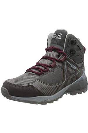 Jack Wolfskin Women's Cascade Hike Xt Texapore Mid W High Rise Shoes, (Pebble / 6515)