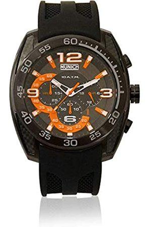 Munich Unisex Adult Analogue Quartz Watch with Rubber Strap MU+131.1B